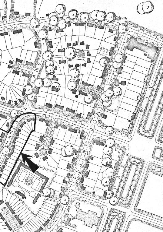 Welwyn housing site plan 1920