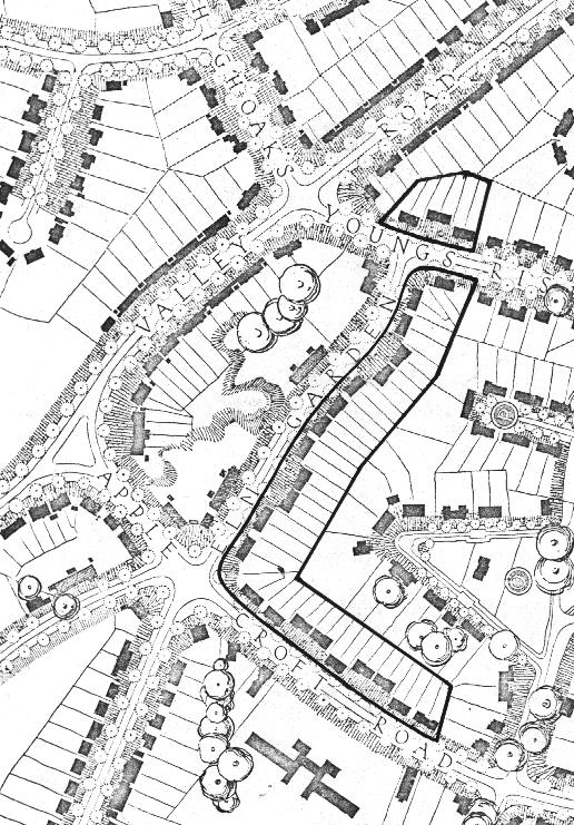 Welwyn housing site plan1921