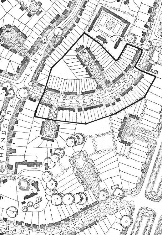 Welwyn housing site plan 1923